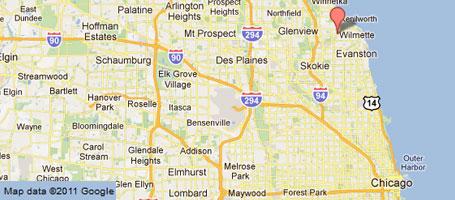 Bhs Location Wilmette Illinois